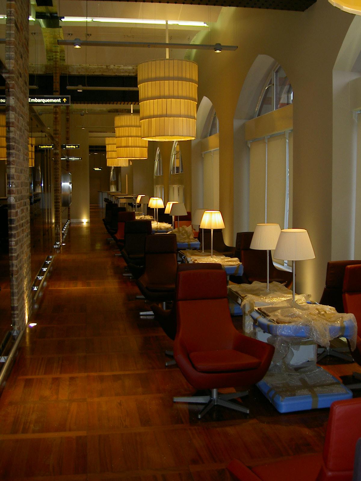 St Pancras International Connaught Flooring Raised